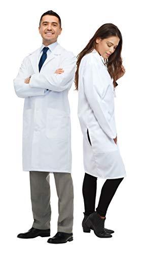 Dress Up America - Disfraz Unisex Doctor Lab Adultos y niños, 165 - 193 cm (857)