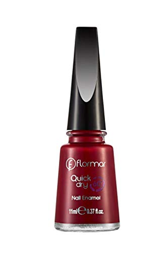 'Flormar Nagellack Quick Dry 6011ml–Farbe 06(Flery Red)