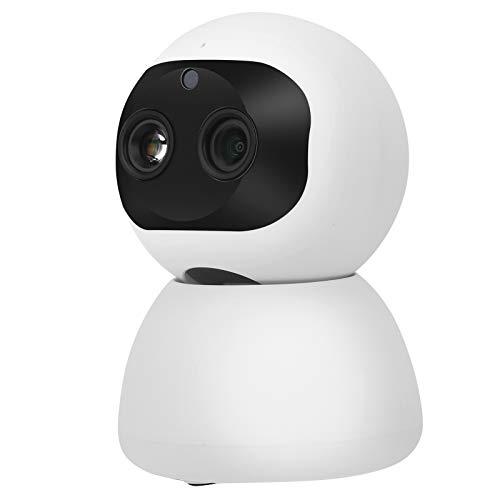 Cámara WiFi infrarroja de visión Nocturna 1080P WiFi PTZ Cámara de inclinación panorámica de Audio bidireccional(European regulations)