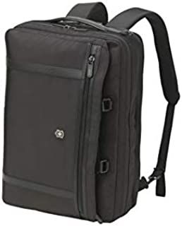 "Victorinox - Werks Pro 2.0-2 WAY Carry 15"" Laptop Briefcase/Backpack - Black"