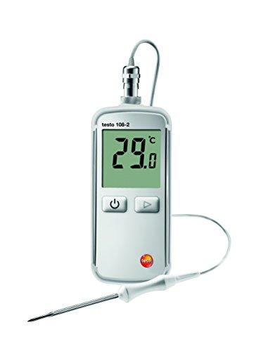 Testo 108-2Medidor de temperatura, termómetro de 50a + 300°C ° C de tipo T (CU CUNI)