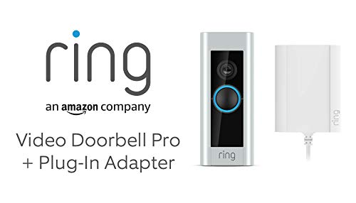 Ring Video Doorbell Pro with Plug-In Adapter by Amazon, 1080p HD, Two-Way...