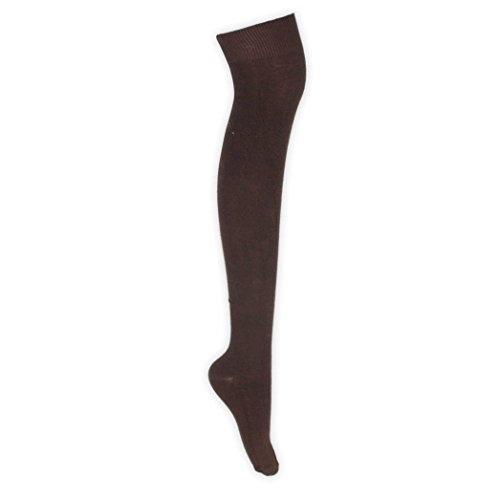 adam & eesa Damen Frauen über dem Knie Stretch Oberschenkel hohe Kniestrümpfe Socken in Multi Farben Socken Größe EUR 37-39.5