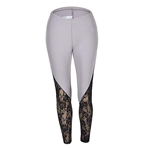 NIGHTMARE Pantalones de Yoga para Mujeres con Cintura Alta Control de Abdomen Entrenamiento Correr Estiramiento Leggings de Yoga Pantalones de Yoga para Mujeres XXL