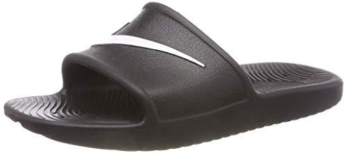 Nike Jungen Kawa Shower (GS) Sport Sandalen, Schwarz (Black/White 001), 36 EU