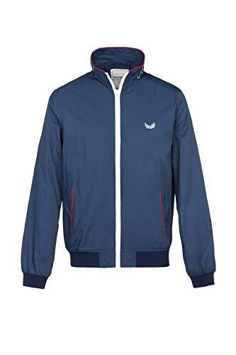 Kaporal - Veste légère, Style Sportswear, Coupe Droite - Cofer - Homme - XL - Bleu