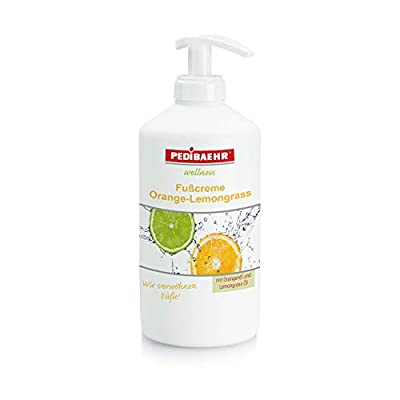Fußcreme Orange Lemongrass 500ml