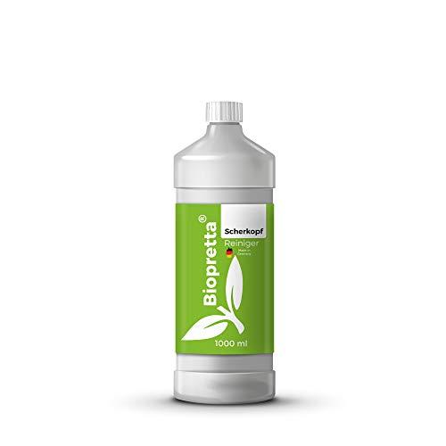 Biopretta Scherkopfreiniger 1000ml Nachfüllflüssigkeit für Reinigungskartuschen