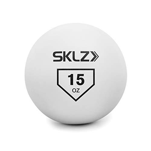 SKLZ Contact Ball Baseball and Softball Batting Training Ball, 15 Ounce