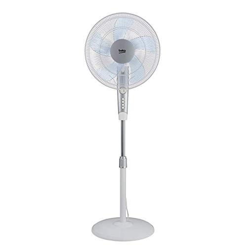 Beko EFS5100W Ventilatore a piantana, 50 W, 43 Decibel, Bianco, nd
