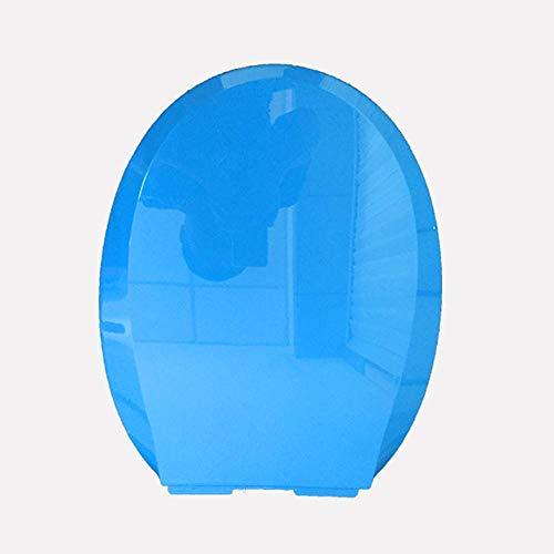 Tapa De Wc, Tapa De Inodoro Con Bisagra Ajustable Y Cierre Suave, Para Baño Familiar, Material De Polipropileno Antibacteriano