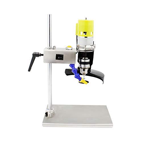 Máquina cortadora de botellas Máquina cortadora de botellas de vino eléctrica Herramienta de corte de botellas de vidrio DIY Artesanía Fabricante de macetas Molienda Cortador de perforación
