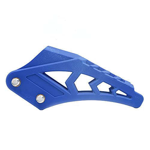 ANCLLO 420# 428# Chain Guide Chain Guard Fit CRF 250 R EXC CRF Replacement For Dirt Bike Pit Bike Blue