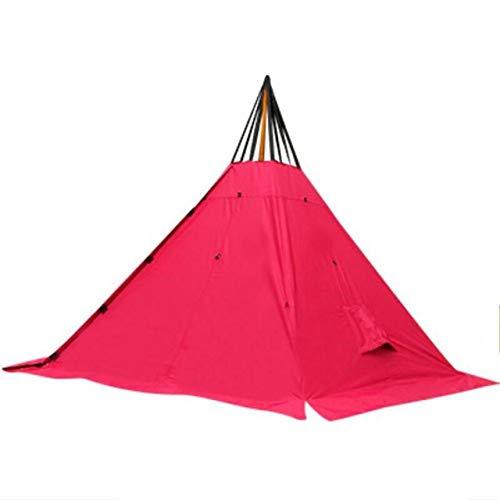 ZFLL Tent voor 4 5 6 personen piramide Pentagon Flaming Flamingo tent, tent, camping, outdoor, legergroen