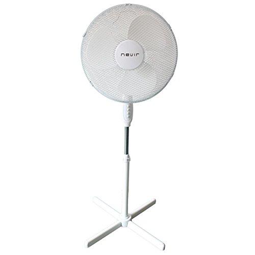 Nevir NVR-VP40-BT Ventilador de Pie 40Cm Blanco