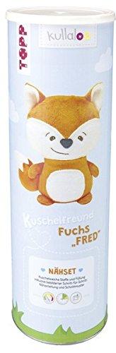 Kullaloo Nähset Fuchs: Anleitung und Material für einen niedlichen Fuchs zum Selbernähen
