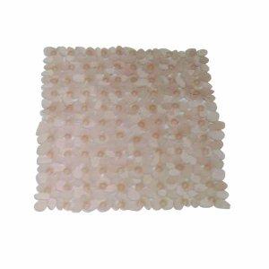 MSV Tapis Bain Galet Saumon 54x54, Acrylique, Latex, 80 x 150 cm
