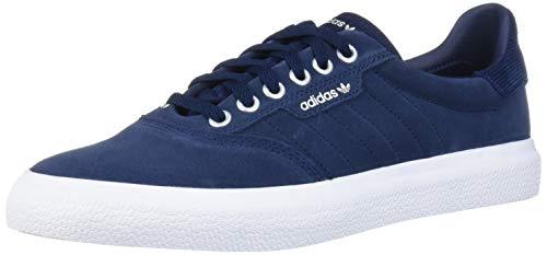 adidas Originals 3MC Sneaker, Collegiate Navy/White/Silver Metallic, 8.5 M US