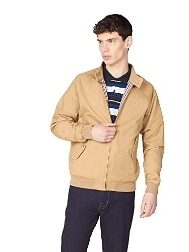 Ben Sherman Signature Harrington - Chaqueta para hombre Harrington original de la marca Classic Mod - Abrigo estilo retro para hombre