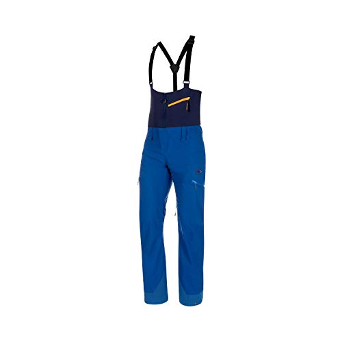 Mammut Stoney HS Bib – Pantalon Homme, Bleu (Ultramarine-Marine)