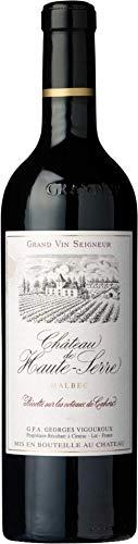 Château de Haute-Serre Grand Vin Cahors Rotwein französischer Wein trocken AOC Frankreich (3 Flaschen)