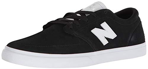 New Balance Men's NM345BW, Black/Whit, 7 D US