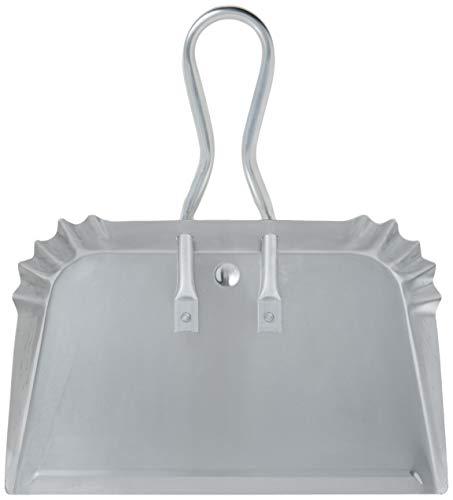 "Quickie 428 Aluminum Dustpan 17"" Heavy Duty Precision Edge for Outdoor/Indoor"