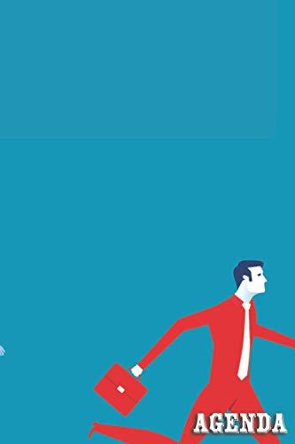 Agenda: Agenda Giornaliera A5 Settimanale Planner con schema verticale per obiettivi , appuntamento e progetti - 12 mesi - non datato - 15,24 x 22,86 cm