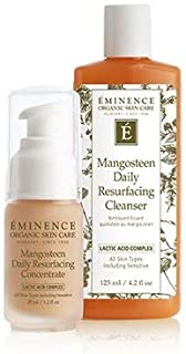 Eminence Mangosteen Daily Resurfacing Cleanser and Concentrate set