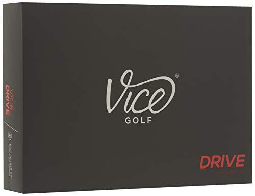 Vice Golf Drive Golfbälle, Weiß (One Dutzend)