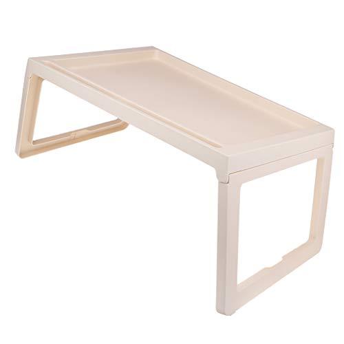 Toygogo Klapptisch Campingtisch Klappbarer Faltbarer Tisch Falttisch Gartentisch - Beige