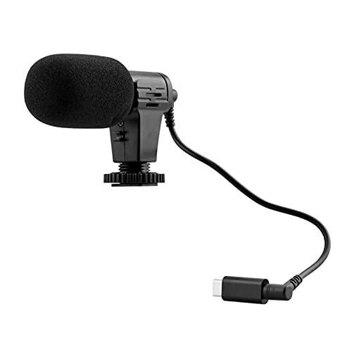 fuchsiaan Adaptador de micrófono de vídeo de grabación de 3,5 mm para Insta360 One R Action Camera - Negro