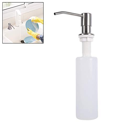 Comtervi Seifenspender Shampoospender Gelspender Spülmittelspender 300ML Set Nachfüllbar für Dusche Küche Bad Soap Dispenser Seifen Lotion Spender Dispenser