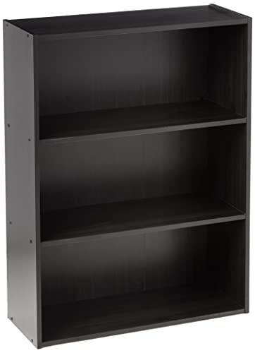 Furinno Pasir 3-Tier Open Shelf, Espresso
