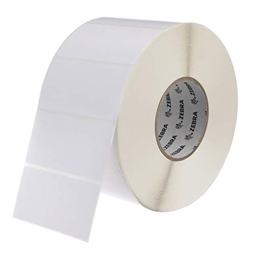 Zebra 4 x 2 in Direct Thermal Paper Labels Z-Perform 2000D Permanent Adhesive Shipping Labels 3 in Core 4 rolls 10031654SP