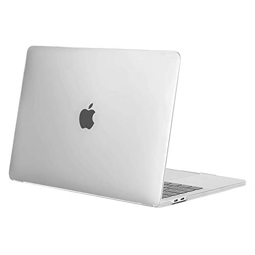 MOSISO MacBook Pro 13 inch Case 2020 2019 2018 2017 2016 Release A2338 M1 A2289 A2251 A2159 A1989 A1706 A1708, Plastic Hard Shell Case Cover Compatible with MacBook Pro 13 inch, Frost