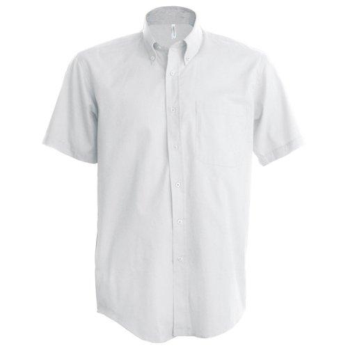 Kariban - Chemise à Manches Courtes - Homme (5XL) (Blanc)
