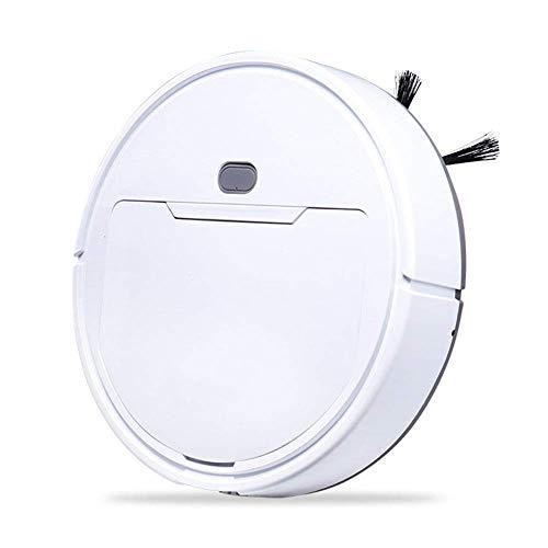 Dmqpp Hot Draadloze stofzuiger, met USB-oplader, intelligent luxe robottapijt, huishoudreinigingsmachine, wit