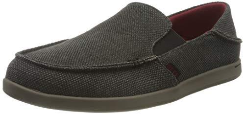 Reef Men's Cushion Bounce Matey Sneaker, Black Red Grey, 6.5 UK