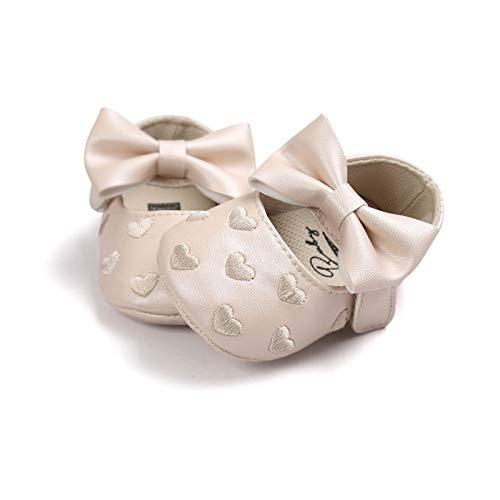 Youpin Bebe Mokassins aus PU-Leder für Babys, Jungen, Mädchen, weiche Sohle, rutschfeste Schuhe, für Babybett, Alter 0 bis 6 Monate, Farbe: YTM1125XJ (1)