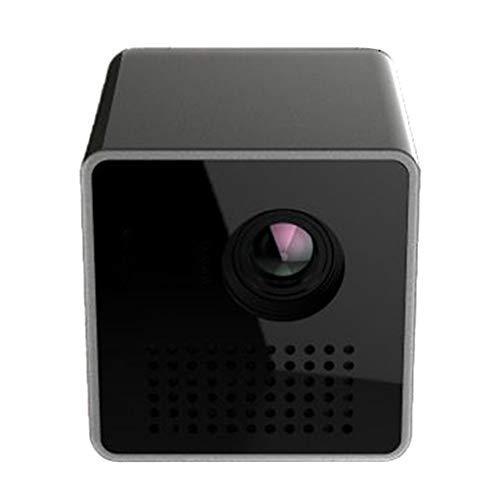 Beamer Projektor Elektrisch WiFi-Projektor P1S Mini WiFi-Projektor Tragbarer Projektor Video Multimedia Home Business
