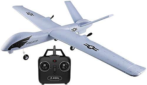 Makerfire RC Flugzeuge FPV Wing 660mm Wingspan Glider 2 Kanäle 2,4 GHz RTF DIY ferngesteuertes Flugzeugspielzeug EPP Eingebauter Kreisel