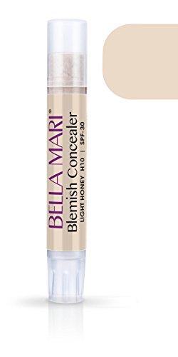 Bella Mari Concealer Stick Light Honey H10 5g/ 0.17oz Tube by Bella Mari Beauty