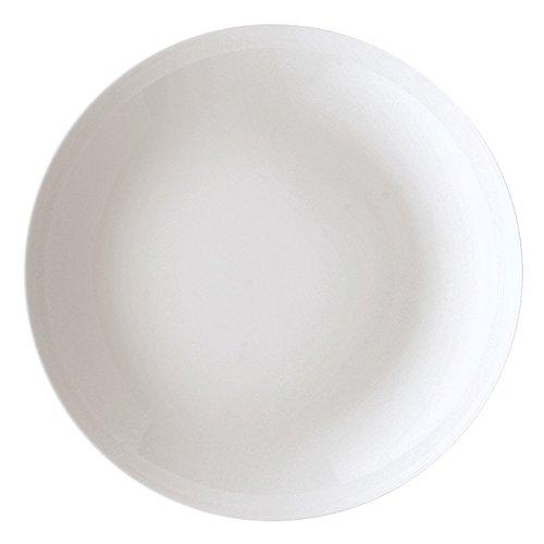 Arzberg Cucina-Basic ROK Weiss Suppenteller 22 cm, Porzellan, White, 22.1 x 22.3 x 10.3 cm
