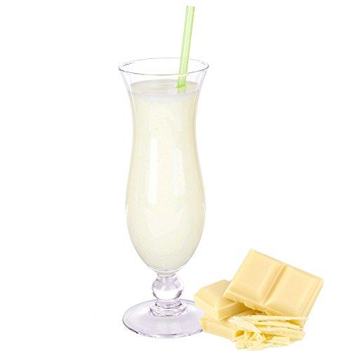 Weiße Schokolade Geschmack Milchshake Pulver Gino Gelati zum Milchshakes selber machen (1 kg)
