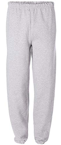 Adult Relaxed Fit Soft and Cozy Sweatpants in 11 Colors-S-Ash