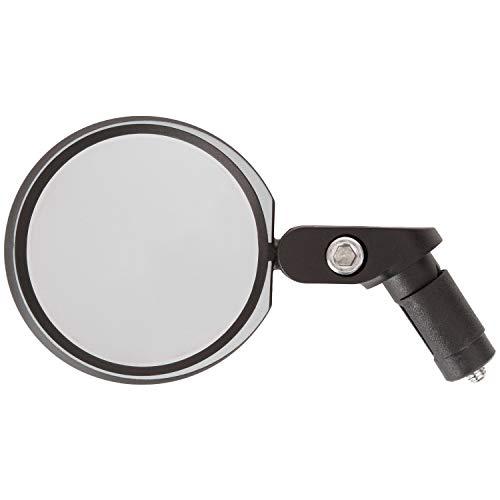 P4B | 3D Fahrrad Spiegel | Entspiegeltes + Blendfreies Echtglas | Hochwertiger M-Wave Fahrradspiegel SPY Space IN | Auch geeignet für Scooter, Kinderwägen, Rollstühle, etc.