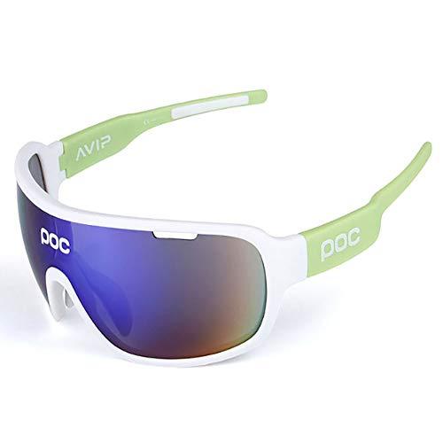 HUIHUAN Sonnenbrille Ultraleichte polarisierte Sonnenbrille für Männer und Frauen Outdoor-Sportbrillen 100% UV-Schutz,green