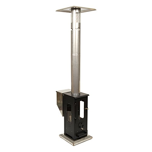 Why Choose Wood Pellet Outdoor Patio Heater – Propane Alternative, Portable, No Smoke, 90,000 BTU's, 12 Ft Heating Radius, Enclosed Flame Perfect for Patios, Backyards, Decks, and Camping (Big Timber)