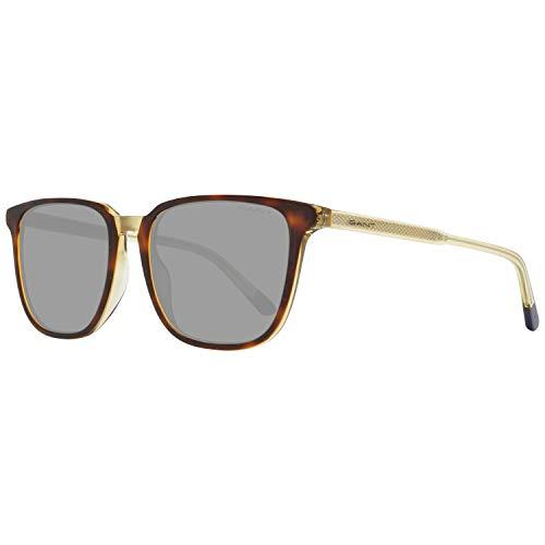 Gant GA7101 zonnebril voor heren, bruin (coloured Havana/Green), 54